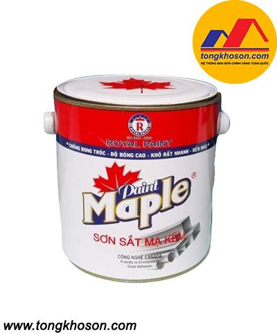 Sơn sắt mạ kẽm Maple (Sơn Royal)