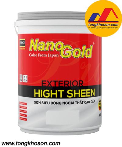 Sơn NanoGold Hight Sheen ngoại thất siêu bóng