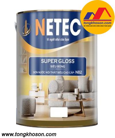 Sơn siêu bóng cao cấp nội thất Netec N-82