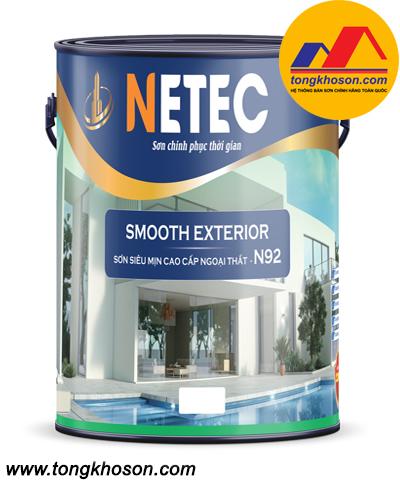 Sơn Netec siêu mịn cao cấp ngoại thất N-92