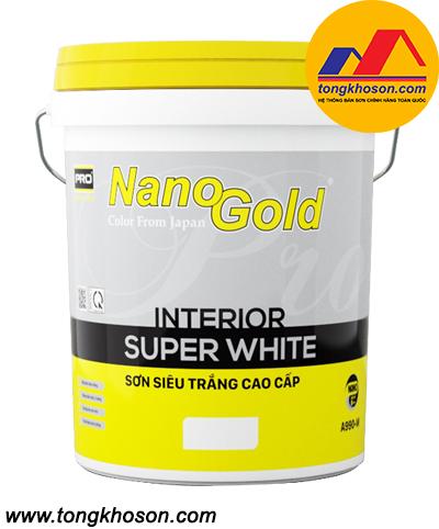 Sơn NanoGold nội thất siêu trắng