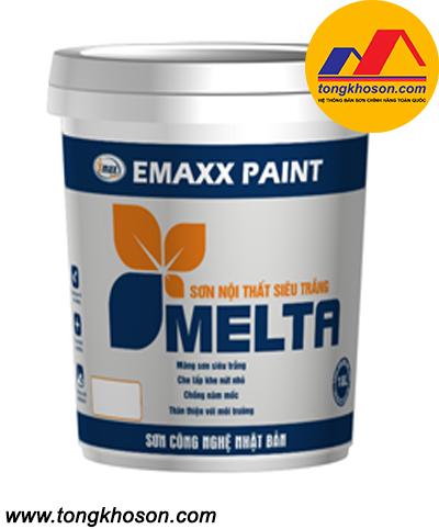 Sơn siêu trắng Emaxx nội thất Melta