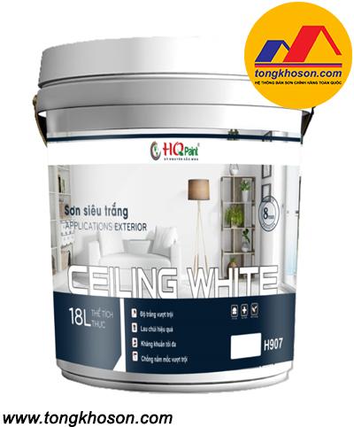 Sơn HQ Paint siêu trắng dùng cho trần nhà