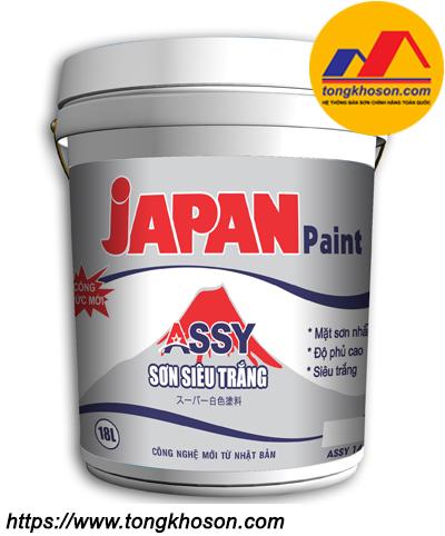 Sơn siêu trắng Japan Assy