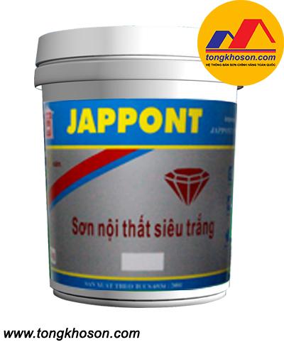 Sơn siêu trắng Jappont