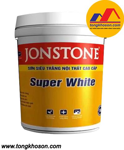 Sơn siêu trắng Jonstone
