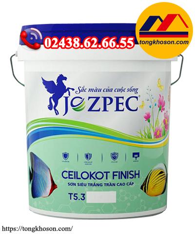 Sơn siêu trắng Jozpec Ceilokot Finish