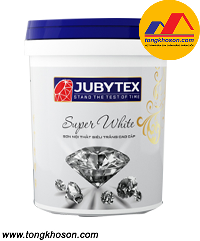 Sơn siêu trắng Jubytex