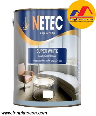 Sơn siêu trắng trần cao cấp Netec N-85
