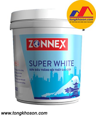 Sơn siêu trắng Zonnex nội thất