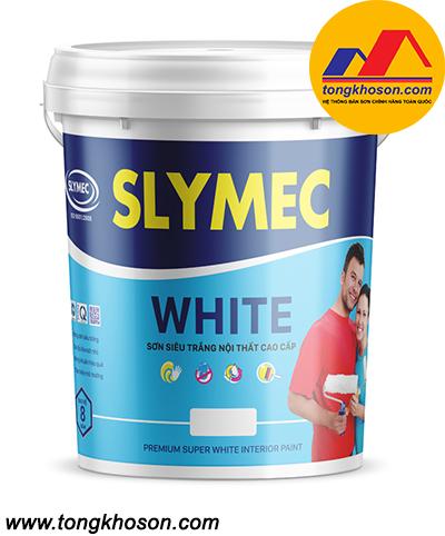 Sơn siêu trắng Slymec nội thất