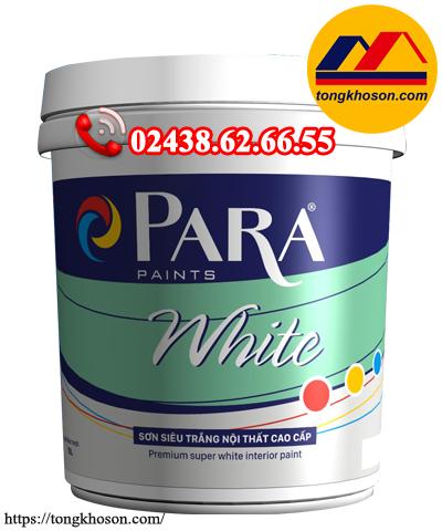 Sơn siêu trắng Para White nội thất