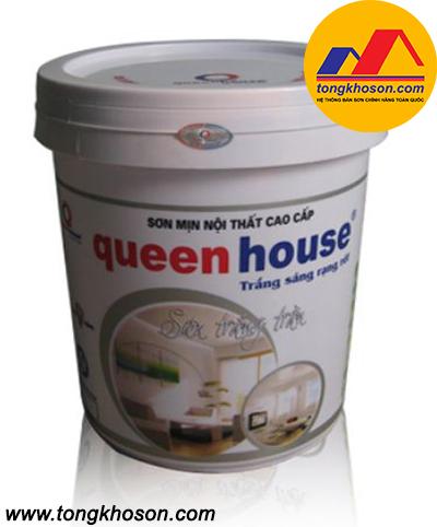 Sơn siêu trắng Queen house