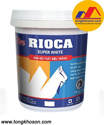 Sơn siêu trắng Rioca