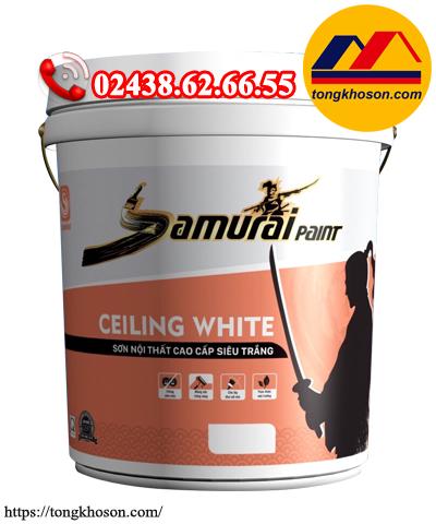 Sơn siêu trắng Samurai Ceiling White