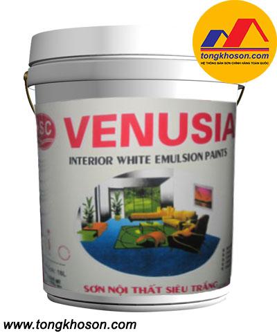 Sơn siêu trắng Venusia nội thất