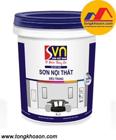 Sơn siêu trắng Việt Nam nội thất