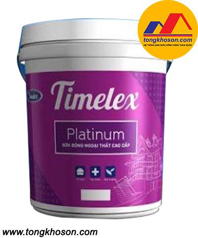 Sơn Timelex ngoại thất bóng cao cấp Platinum