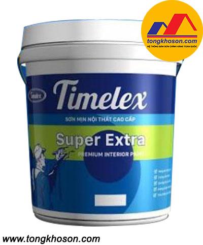 Sơn Timelex nội thất mịn Super Extra Int