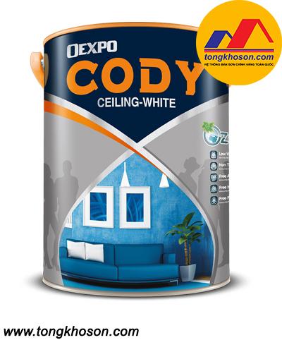 Sơn siêu trắng trần Oexpo Cody Ceiling White