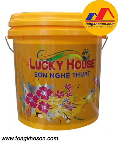 Sơn vân đá VĐ4 Lucky House