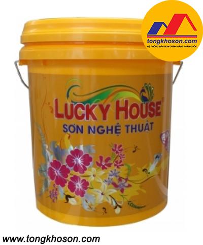 Sơn vân mây Lucky House