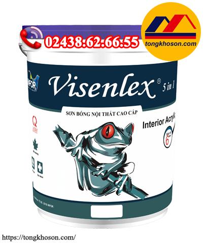 Sơn Visenlex 5 in 1 nội thất bóng