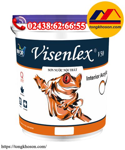 Sơn Visenlex V50 nội thất mịn