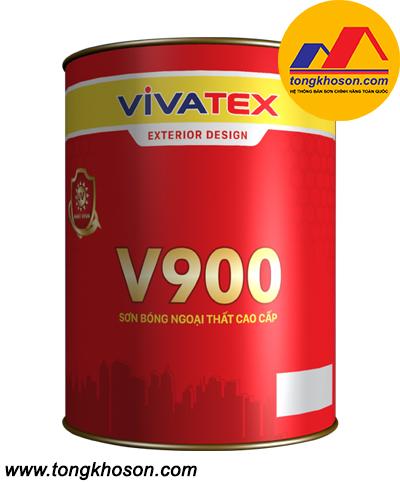 Sơn Vivatex ngoại thất bóng cao cấp