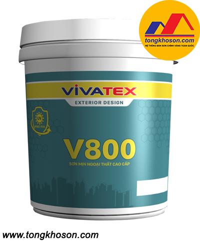 Sơn Vivatex ngoại thất láng mịn