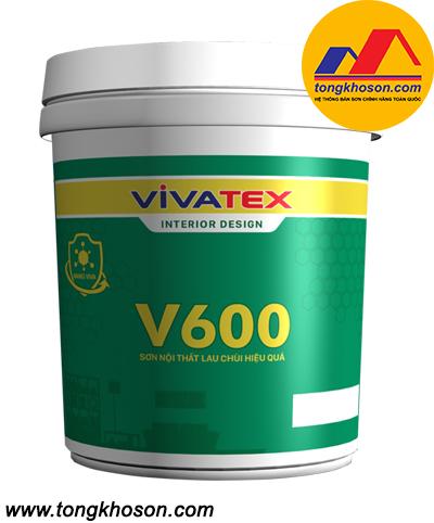 Sơn Vivatex nội thất lau chùi hiệu quả