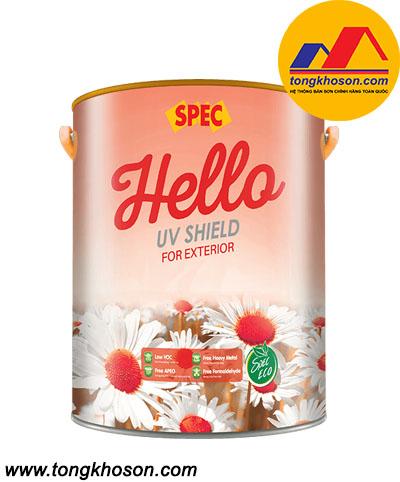 Sơn ngoại thất UV Shield Exterior cao cấp chống bám bẩn, công nghệ chống phai màu