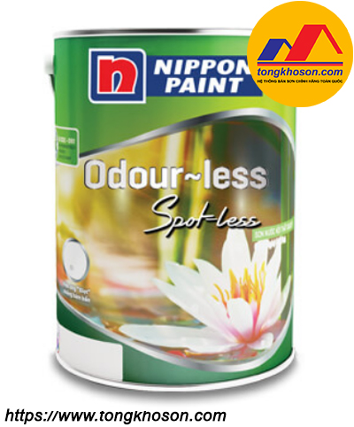 Sơn Nippon Odourless Spot-Less nội thất