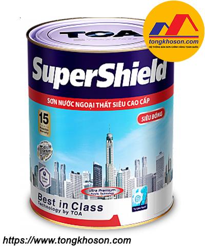 Sơn Toa SuperShield ngoại thất siêu bóng