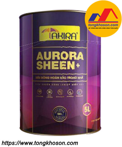 Sơn nội thất siêu bóng hoàn hảo Takira Aurora Sheen Plus