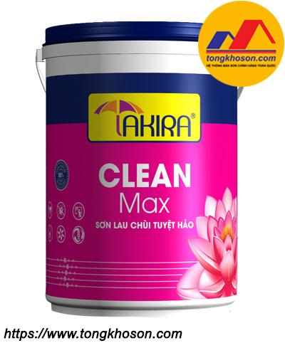 Sơn nội thất lau chùi tuyệt hảo Takira Clean Max