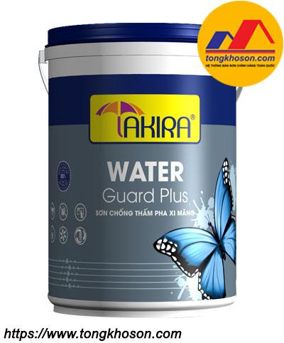 Sơn chống thấm pha xi măng Takira Water Guard Plus