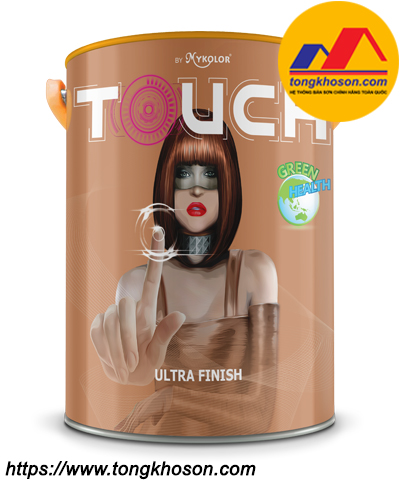 Sơn ngoại thất chống bám bẩn Mykolor Touch Ultra Finish
