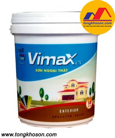 Sơn Semax mịn ngoài nhà Vimax