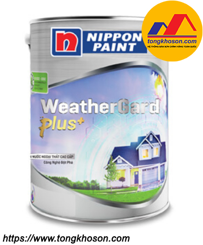 Sơn Nippon Weathergard Plus+ ngoại thất