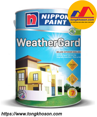 Sơn Nippon Weathergard ngoại thất bóng