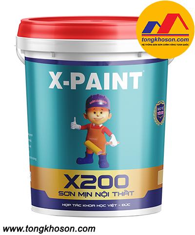 Sơn X-Paint nội thất mịn X200