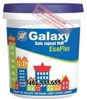 Sơn Galaxy EcoPlus ngoại thất mịn