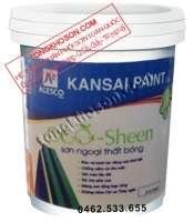 Sơn Kansai Eco Sheen ngoại thất bóng