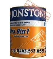 Sơn Jonstone siêu bóng ngoại thất Ultra 8in1