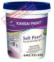 Sơn Kansai Soft Pearl nội thất bóng ngọc trai