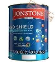 Sơn Jonstone siêu bóng ngoại thất Nano Shield
