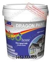 Sơn Dragon Eco House ngoại thất bóng mờ