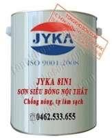 Sơn Jyka siêu bóng nội thất 8in1