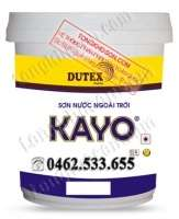Sơn kinh tế Dutex Kayo ngoại thất